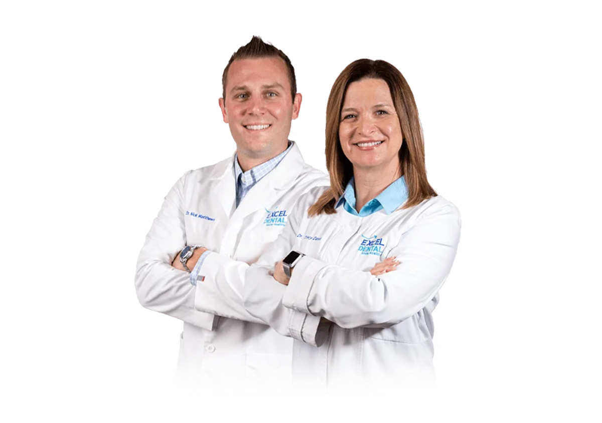 Dr. Nick Matthews and Dr. Tracy Davis