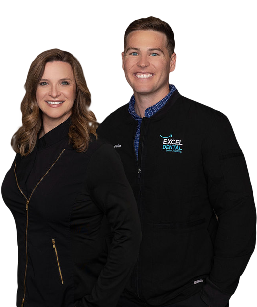 Dr. Jim Oslica and Dr. Tracy Davis